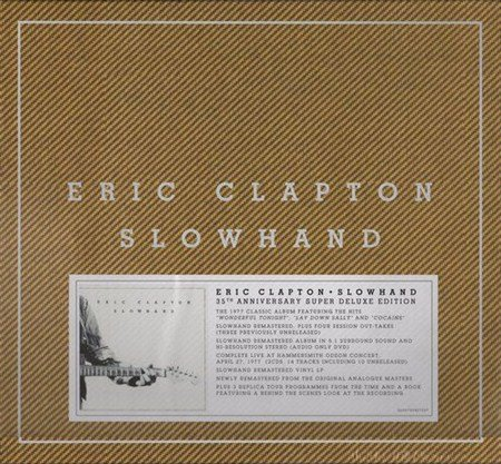 Eric Clapton - Slowhand. 35th Anniversary [Super Deluxe Edition] (2012)