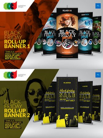 Black Friday Roll-Up Banner #1-#2