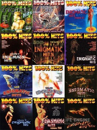 100% Enigmatic Hits (12CD) (2001-2003) Mp3