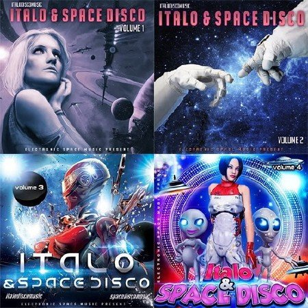 Italo Disco And Space Vol. 1-4 (2018)