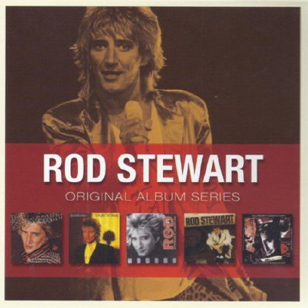 Rod Stewart - Original Album Series (1980-1991) (5CD Box Set) (2010)